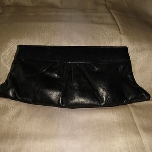 Lauren Merkin Louise leather clutch.